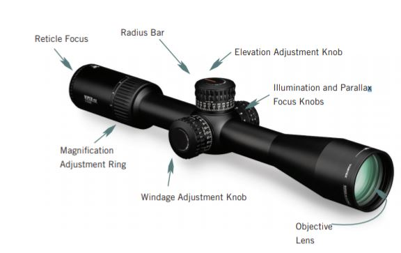 Vortex Optics Viper PST Gen II First Focal Plane Riflescopes