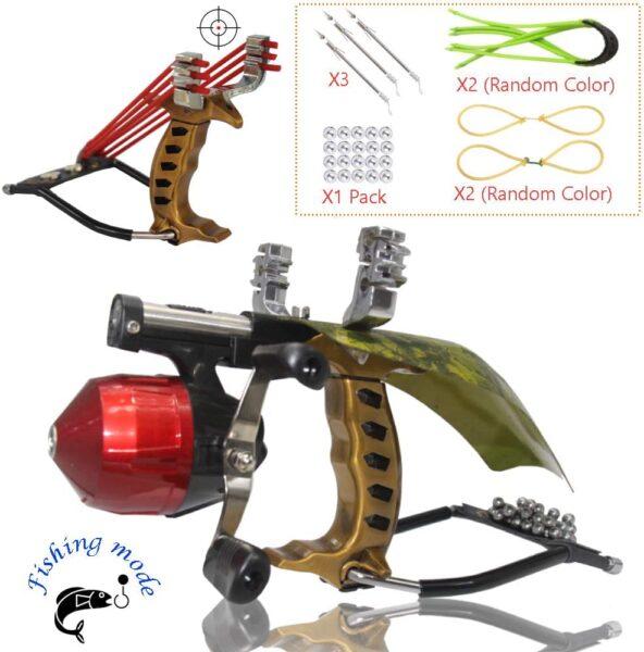 Blue-Ra Y Shot Outdoor Slingshot Fishing