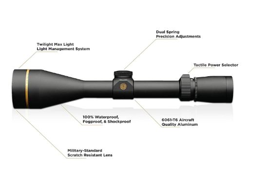 Leupold VX-3i 4.5-14x50mm Riflescope