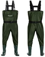 Magreel Kids Chest Waders Waterproof Nylon/PVC Youth Waders with Boots Fishing & Hunting Waders for Toddler