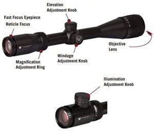 Vortex Optics Crossfire II Adjustable Objective, Second Focal Plane