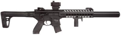 Sig Sauer MCX .177 CAL Co2 Powered (30 Rounds) SIG20R Red Dot Air Rifle