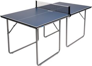 JOOLA Midsize - Regulation Height Table Tennis Table Great for Small Spaces - Best Ping Pong Tables under