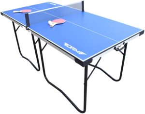 DRM 6FT Foldable Table Tennis Table Game Set Indoor Outdoor Portable PingPong Game Table
