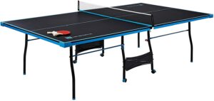 MD Sports Table Tennis Set: Regulation Ping Pong Table with Net