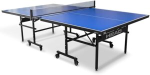 HEAD Summit USA Table Tennis Seamless Folding Table with Competition Grade Net