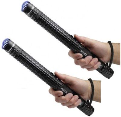 Police Force Batons and Stun Sticks