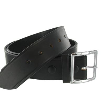 Boston Leather  1.75in. Garrison Leather Belt US Made