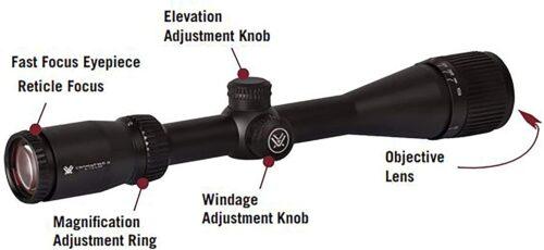 Vortex Optics Crossfire II Second Focal Plane, 1-inch Tube Riflescopes