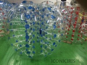 iconiciris Inflatable Bumper Bubble Balls