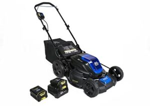 Kobalt 80-Volt Max Brushless Lithium Ion 21-in Deck Width Cordless Electric Lawn Mower with Mulching Capability