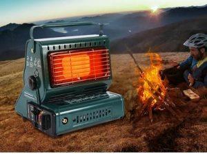 Camping Dual-Purpose Use Stove Heater Iron