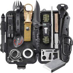 EILIKS Survival Gear Kit, Emergency EDC Survival Tools