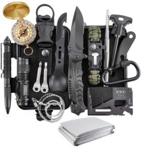 Survival Kit, Verifygear 17 in 1 Professional Survival Gear Tool