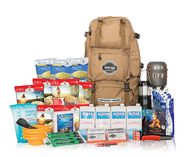 Sustain Supply Co.-9-08420 Premium Family Emergency Survival Bag/Kit