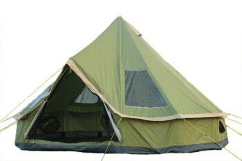 DANCHEL OUTDOOR Backpacking Lightweight Teepee Yurt Roomy Tent