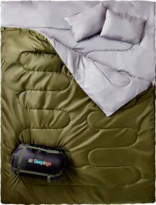 Sleepingo Double Sleeping Bag for Backpacking