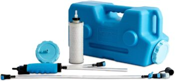 AquaBrick Portable Water Purification System, Portable Water Filter for Camping