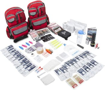 Emergency Zone 4 Person Family Prep 72 Hour Survival Kit/Go-Bag