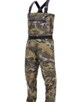 Bassdash Breathable Ultra Lightweight Veil Camo Chest Boot Foot Stocking Foot Fishing Hunting Waders