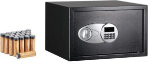 Amazon Basics Steel, Security Safe Lock Box
