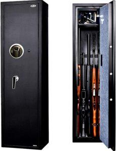 Biometric Rifle Gun Safe, Moutec Quick Access