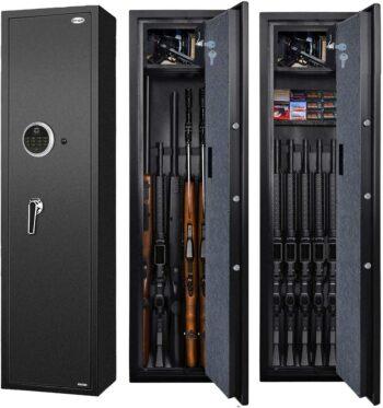 Langger Biometric Rifle Gun Safe