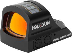 .HOLOSUN- HS507C-X2 Classic Multi Reticle Red Dot Sight