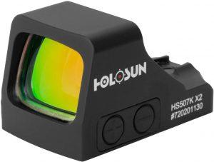 HOLOSUN-HS507K-X2- Best Red Dot for AR Pistol