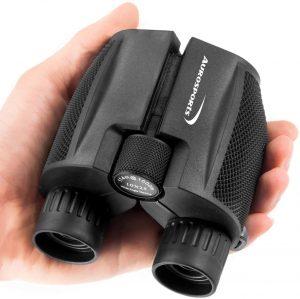 Aurosports 10x25 Folding Compact Binoculars