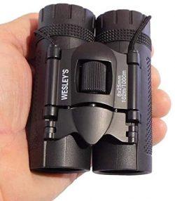 Wesley's Folding Compact High Powered Waterproof Binoculars