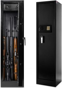 Best Choice Products Steel Electronic Storage Rifle Gun Safe