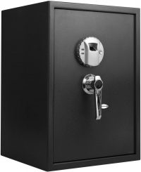 BARSKA Large Biometric Safe Black