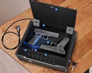 Gun Safe Under 200 lbs