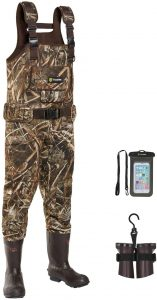 TIDEWE Chest Waders- Best Waders for Cold Water