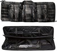 WolfWarriorX Long Rifle Case Tactical Double Rifles Gun Bag