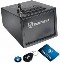 Fortress Medium Portable Safe- Best Gun Safes for Multiple Pistols