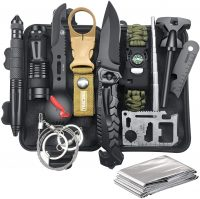 Gifts for Men Dad Husband Father's Day from Daughter Wife Son, Survival Kit 12 in 1- Best Survival Kit Items