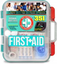 Be Smart Get Prepared - 351 Piece First Aid Kit