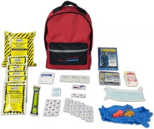 Ready America 70180 72 Hour Emergency Kit, 1-Person, 3-Day Backpack- Best Survival Kit Items