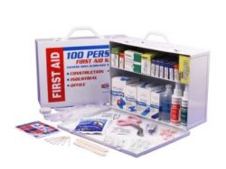 2 Shelf First Aid Cabinet
